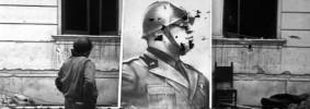 Roma 13 01 04 Nettuno  riprod  fotosbarco degli Alleati   foto renato ciofani