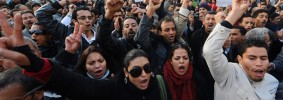 tunisia-scontri-proteste