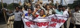 India Economy Protests
