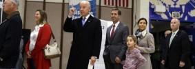 Elezioni USA 2012, il voto del Vice Presidente Joe Biden