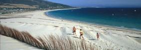 Valdevaqueros beach in Andalusia, Spain