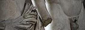 ITALY-ART-SCULPTURE-BERLUSCONI-VENUS-MARS
