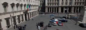 Sparatoria di fronte a Palazzo Chigi