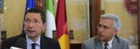Il sindaco di Roma Ignazio Marino e il vice sindaco Luigi Nieri (Foto Omniroma)