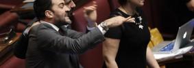 Roma - Enrico Letta chiede la fiducia in Parlamento