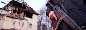 """Explodiertes Haus im Fall der der """"Zwickauer Zelle"""""""