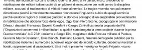 Grande Guerra. Pd, onora...15) - ilVelino/AGV NEWS