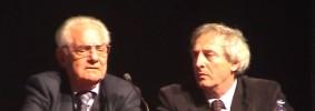 Shlomo Venezia con Marcello Pezzetti