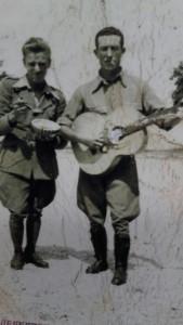 Francesco Mancini con la chitarra