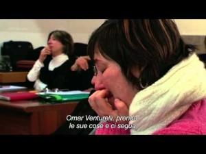 Maria Paz VEnturelli 3 durante il processo Podlech